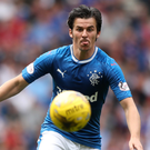 Sidelined: Joey Barton was suspended by Gers after a bust-up with a team-mate