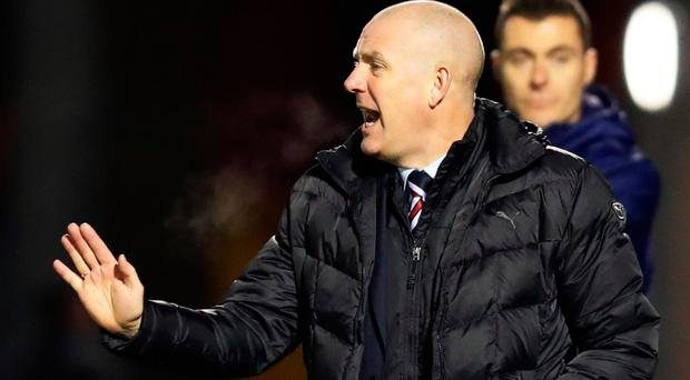 Shouting the odds: Mark Warburton knows leading Gers is hard