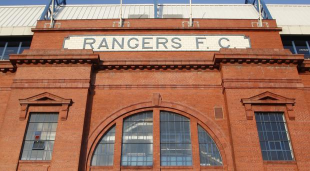Paddy Power sent their team to Ibrox.