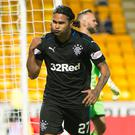 Get in: Rangers' Carlos Pena celebrates last night