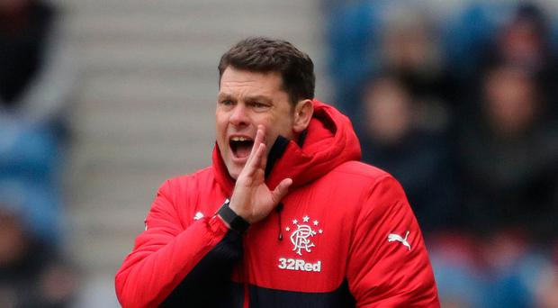 Tough: Rangers caretaker boss Graeme Murty will again take charge at Dundee tonight