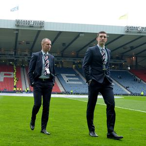 Fall guys: Kenny Miller and Lee Wallace are unlikely to play for Rangers again