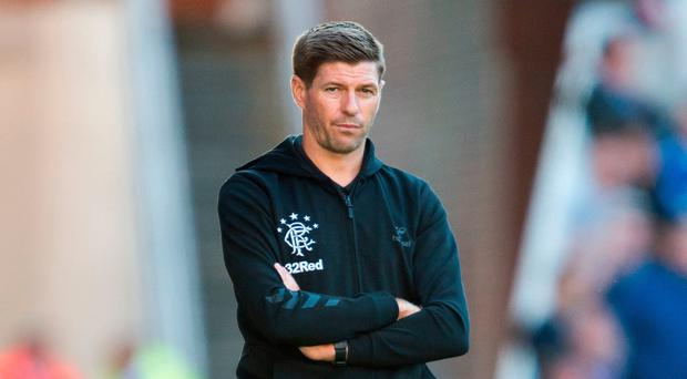 No repeats: Steven Gerrard is well aware of Rangers' European embarrassment of last summer
