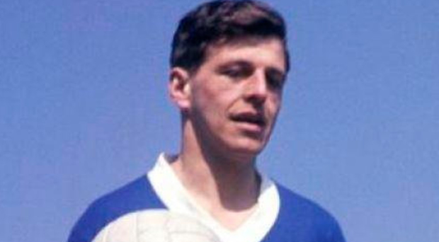 Sad loss: Eric Caldow, who has passed away aged 84, during his Rangers heydey