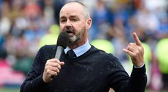 All change: Steve Clarke is set to become new Scotland boss