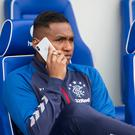 On call: Alfredo Morelos is the subject of transfer speculation