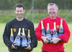 Star performer: Ryan Giggs cut his teeth playing for United in the Milk Cup