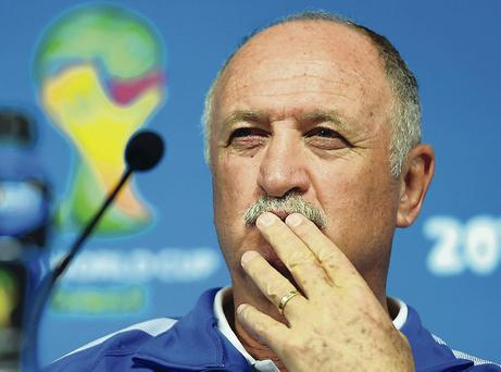 Been there, done it: Luiz Felipe Scolari led Brazil to their last World Cup victory in 2002 during his first spell in charge