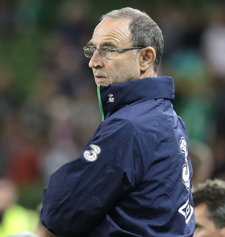 Looking ahead: Republic boss Martin O'Neill believes his side's qualifying group will be extremely tight