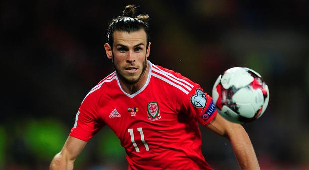 Gareth Bale received some rough treatment from the Moldovan players