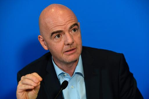 Idea: Gianni Infantino has suggested an extra 16 teams