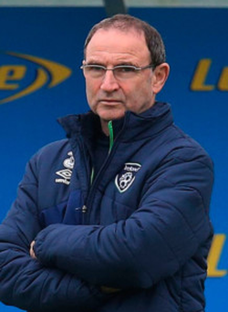 Hit the net: Martin O'Neill