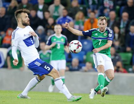 Mission possible: Niall McGinn says organisation and getting off to a good start is key to making life difficult for the Germans tomorrow night