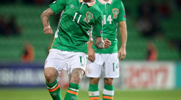 Setback: James McClean has developed a back problem