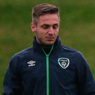 Called up: Republic of Ireland striker Kevin Doyle