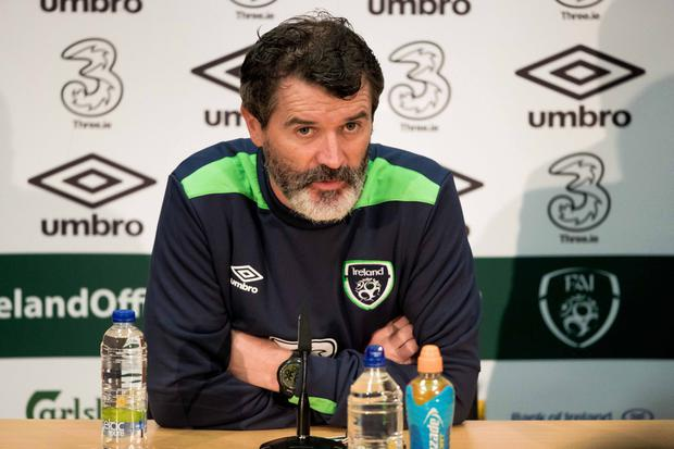 Upbeat: Roy Keane said he expected Gareth Bale to be fit for Wales clash against the Republic of Ireland