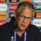 Past woe: Lars Lagerback lost at Windsor Park with Sweden