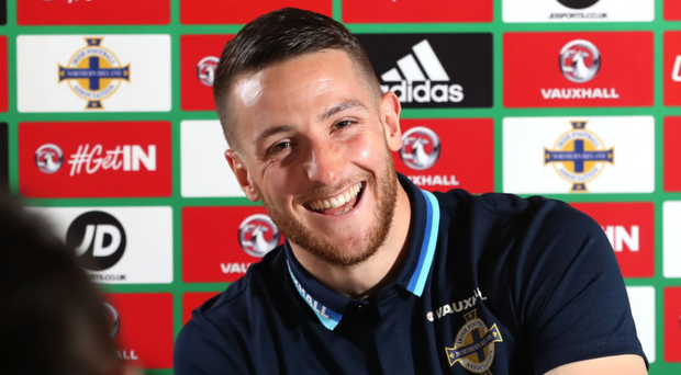 Beaming: Conor Washington is full of confidence once again