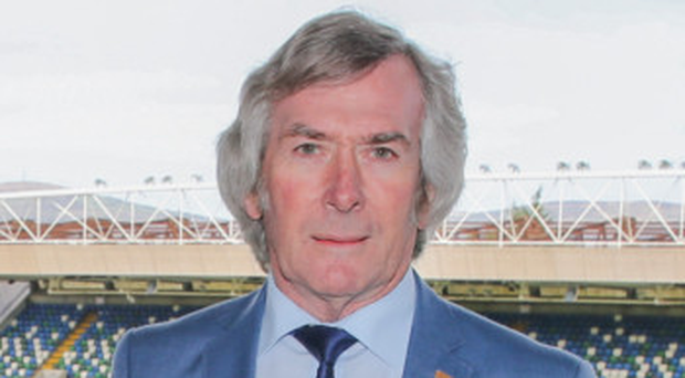 Experience: Pat Jennings played in two World Cups for Northern Ireland