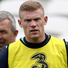 Key man: James McClean has stepped up for the Republic