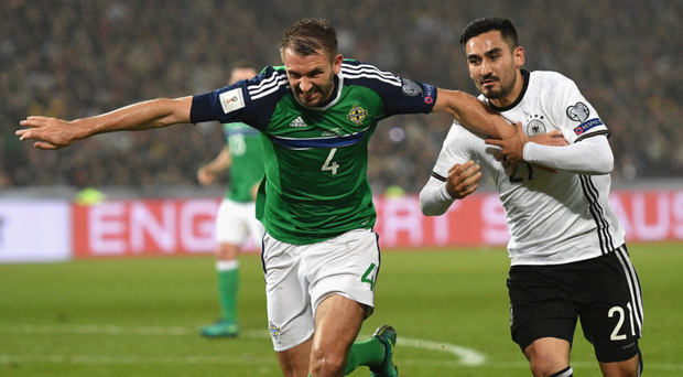 Germany seals World Cup 2018 place with 3-1 victory in Belfast
