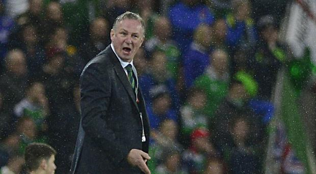 Seeing red: Michael O'Neill was bewildered by decisions