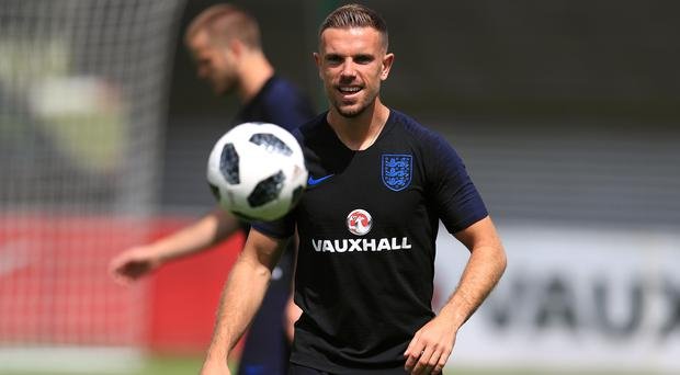 England's Jordan Henderson is hoping for a key World Cup role (Mike Egerton/PA)