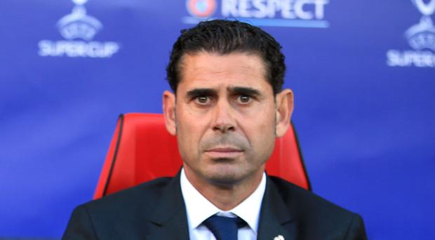 Fernando Hierro will lead Spain at the World Cup (Nick Potts/PA)