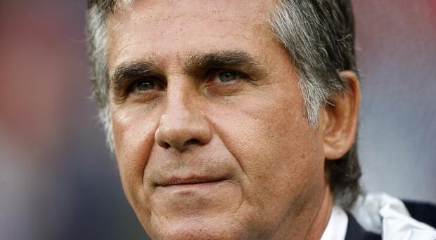 Carlos Queiroz is relishing Iran's World Cup opener (EMPICS)