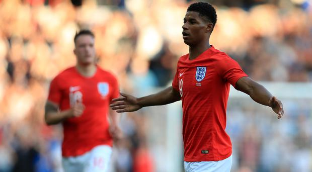 Marcus Rashford scored a stunning goal in England's recent win over Costa Rica (Mike Egerton/PA)