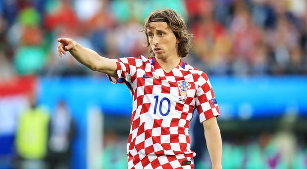 Captain Luka Modric says Croatia are not burdened by World Cup expectations (Mike Egerton/Empics)