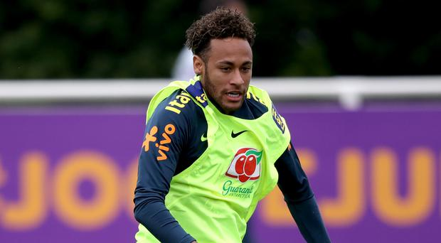 Neymar is returning to full fitness (John Walton/PA)