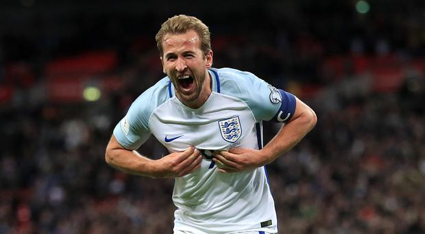 England striker Harry Kane and his team-mates will launch their World Cup adventure on Monday (Adam Davy/PA)