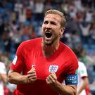 Harry Kane was the man of the moment for England on Monday evening (Adam Davy/PA)