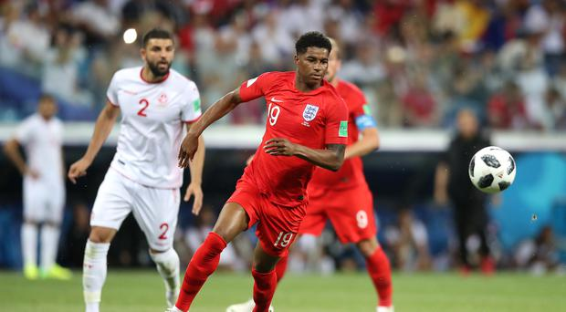 Marcus Rashford impressed from the bench against Tunisia (Adam Davy/PA)