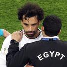 Mohamed Salah suffered World Cup heartache against Russia (Owen Humphreys/PA)