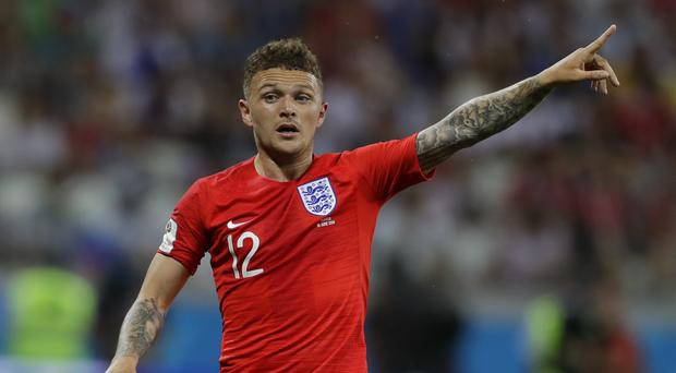 England's Kieran Trippier thinks the Three Lions have enough firepower (Alastair Grant/AP)