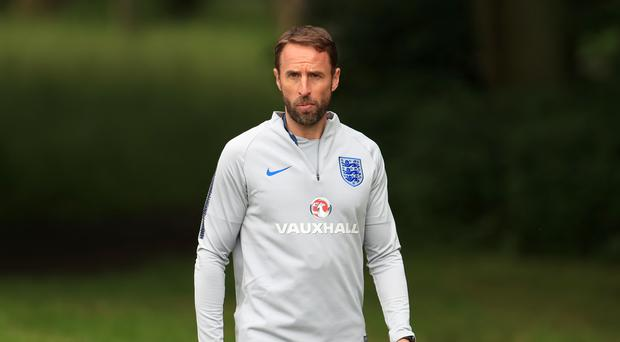 Gareth Southgate has dislocated his shoulder (Mike Egerton/PA)