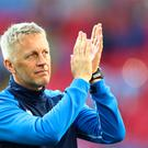 Iceland manager Heimir Hallgrimsson is looking for victory against Nigeria. (Tim Goode/Empics)