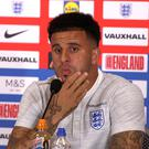 England defender Kyle Walker called for the togetherness within the squad to extend to the watching media (PA Video/PA Wire)