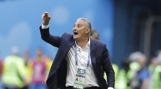 Tite enjoyed Philippe Coutinho's winner (Petr David Josek/AP)