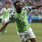 Ahmed Musa fired Nigeria to victory (Darko Vojinovic/AP)