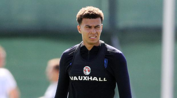 Dele Alli will not face Panama (Owen Humphreys/PA)
