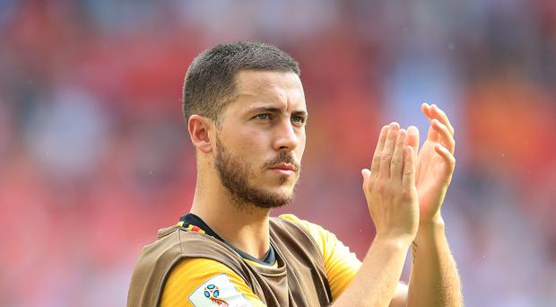 Belgium boss Roberto Martinez substituted Eden Hazard as a precaution against Tunisia but may rest the Chelsea star completely against England (Adrian Davy/Empics)