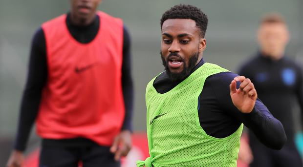 Danny Rose is upbeat about his experience in Russia (Owen Humphreys/PA)