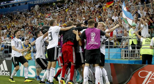 Germany will help to book their place in the last 16 on Wednesday (Frank Augstein/AP)