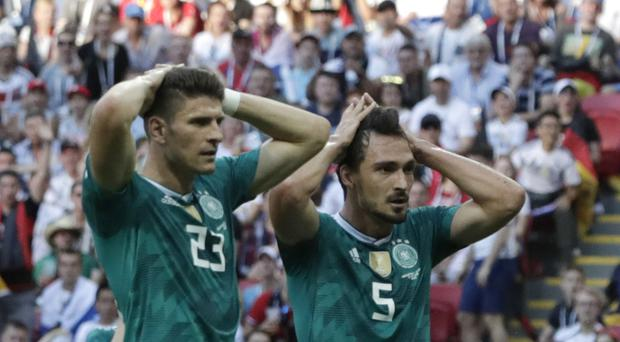 Germany are out of the World Cup (AP)