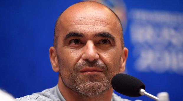 Roberto Martinez's Belgium play England on Thursday (Adam Davy/PA)