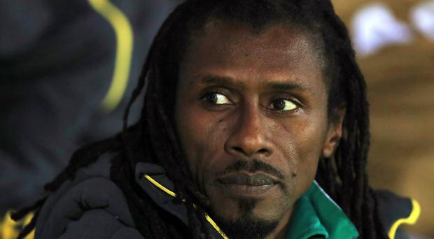 Senegal head coach Aliou Cisse will leave nothing to chance against Colombia (John Walton/EMPICS)