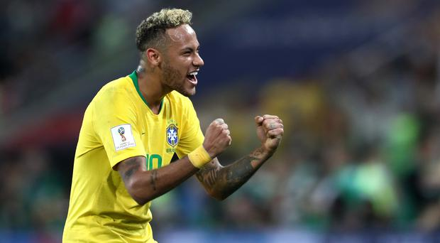 Neymar enjoyed his best game so far at Russia 2018 but still managed to annoy some with his play-acting (Tim Goode/Empics)